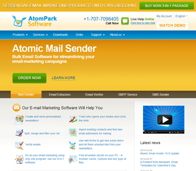 AtomPark Software