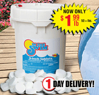 3 premium Chlorine Tablets only $99.99