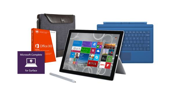 up to $309 Surface Pro 3 Business Bundle