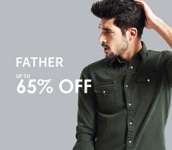 65% off father items